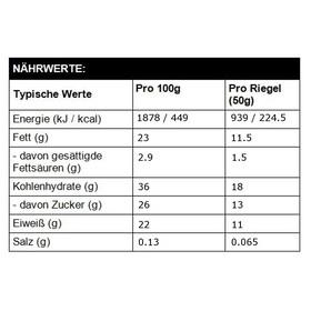High5 ProteinHit Riegel Box Chocolate-Orange 15 x 50g
